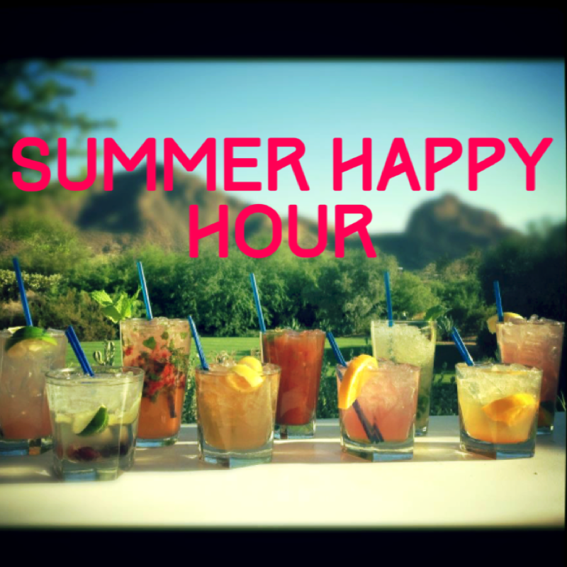 Summer Friday Happy Hour and Book Swap