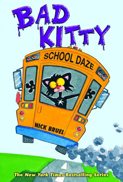 Nick Bruel & Bad Kitty's Book Tour