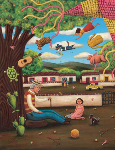 The Eric Carle Museum of Picture Book Art Presents: Latino Folk Tales: Cuentos Populares Art by Latino Artists