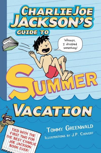Tommy Greenwald's Charlie Joe Jack's Guide to Summer Vacation Book Tour
