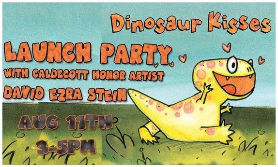 Launch Party for David Ezra Stein's Dinosaur Kisses