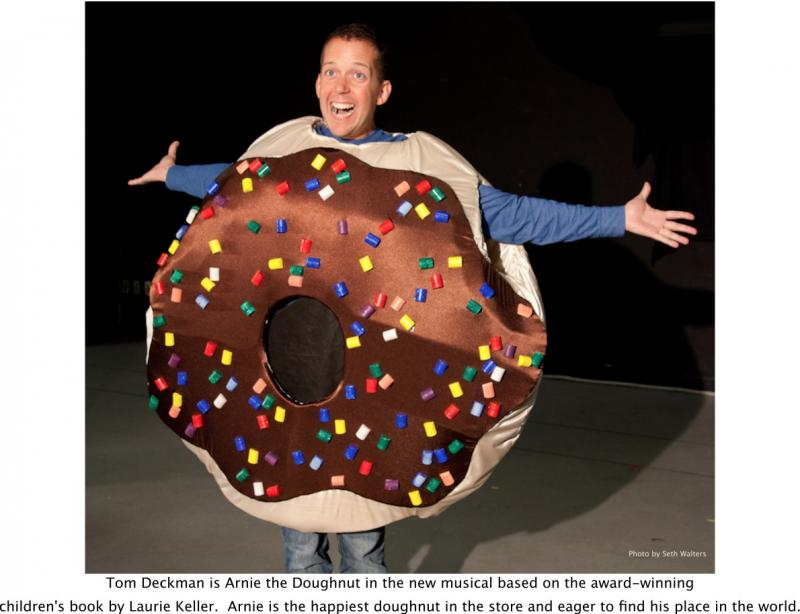 Actor Tom Deckman, Star of 'Arnie The Doughnut – The Musical' to Appear in NYC