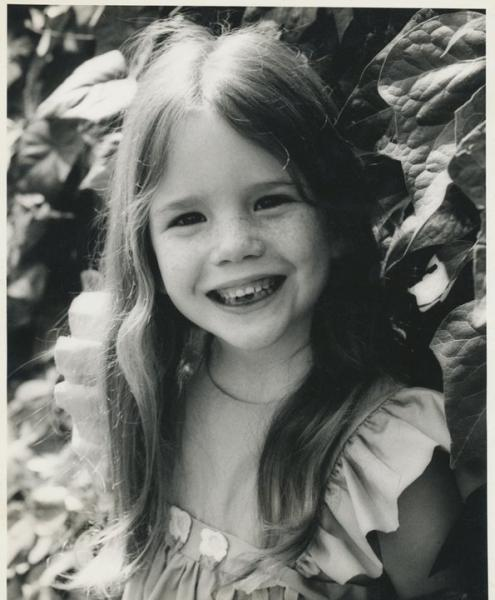 Melissa Gilbert as a child