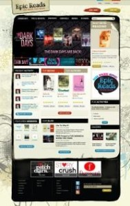 "HarperCollins Launches ""Epic Reads"", An Interacitve Online Platform for Their Teen Authors and Books"