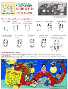 Grace Lin Creates the 2013 Children's Book Week Bookmark