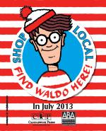 "Candlewick Press & the American Booksellers Association to Bring Back the ""Find Waldo Local"" Promotion"
