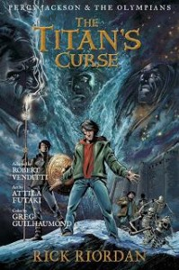 The Titan's Curse to Come Out as a Graphic Novel