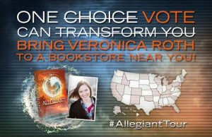 Fans to Help Plan Veronica Roth's Next Book Tour