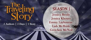 "5 YA Authors Collaborate on a ""Traveling Story"""
