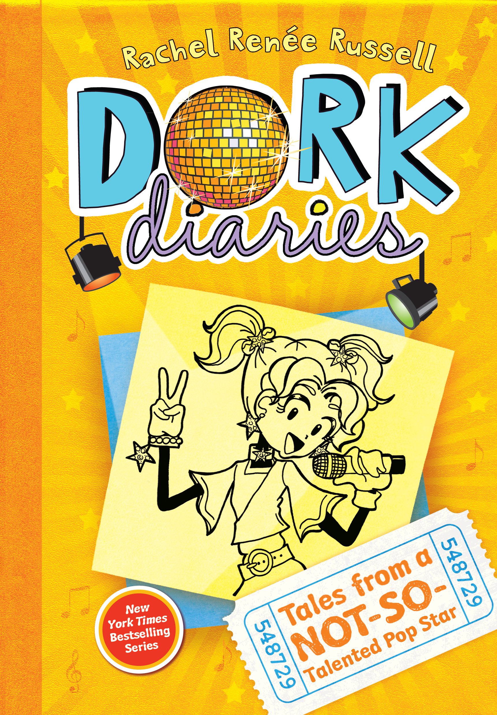 Dork Diaries 3: Tales of a Not-So-Talented Pop Star