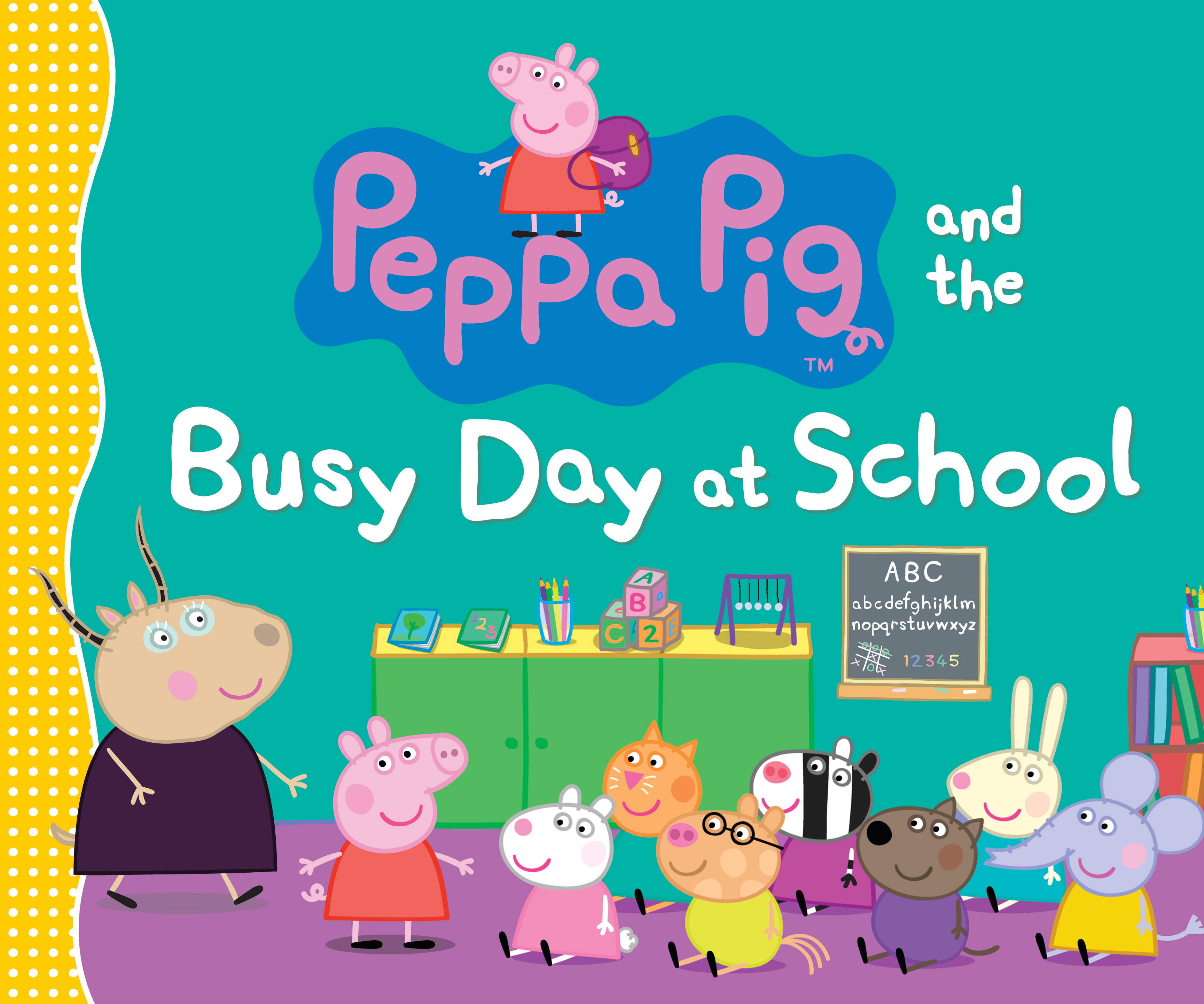 Peppa Pig And The Busy Day At School Children S Book Council
