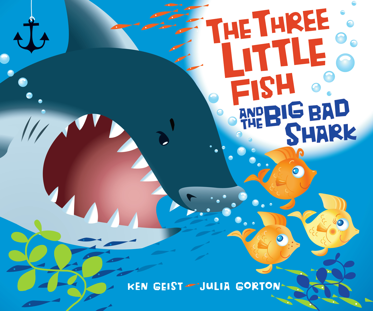 The three little fish and the big bad shark children 39 s for Big fish book