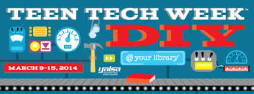 Get Ready for YALSA's 2014 Teen Tech Week™ — March 9-15, 2014!