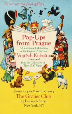 Pop-Ups From Prague: A Centennial Celebration of the Graphic Artistry of Vojtech Kubašta (1914-1992)