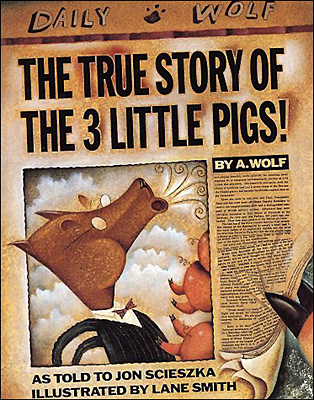 'The True Story of the 3 Little Pigs' Play