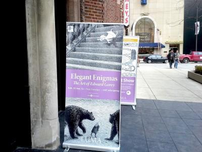 'Elegant Enigmas: The Art of Edward Gorey' Exhibit at the Loyola University Museum of Art
