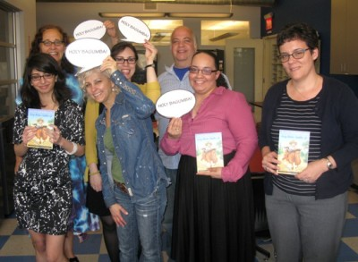 Kate DiCamillo Visits School Library Journal