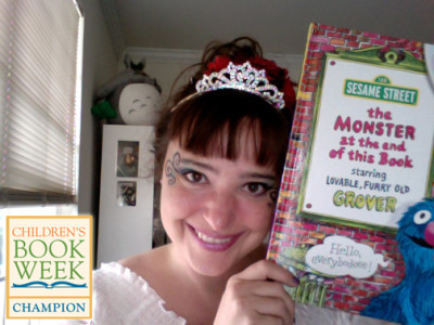 It's Tiara Time! Join Princess Alethea Kontis and Celebrate Children's Book Week May 12-18!