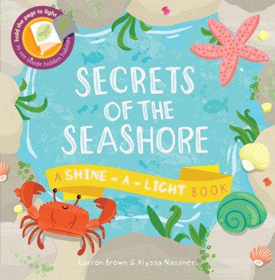 Secrets of the Seashore, A Shine-a-Light Book