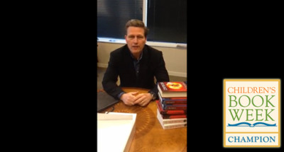 'The Finisher' Author David Baldacci Travels the World Through Books. He's a Children's Book Week Champ!