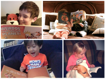 Congratulations to the Winners of our Little Reader Snapshot Contest!