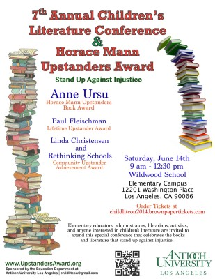 7th Annual Horace Mann Upstanders Book Award and Children's Literature Conference