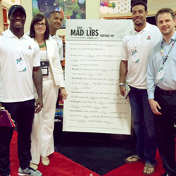 Penguin and NFL Players Inc. Tackle Children's Books