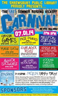 Summer Reading Carnival