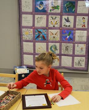 """Celebrating Children's Books"" Traveling Quilt Exhibit"