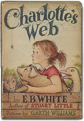 """A book is a sneeze."" E.B. White on Why He Wrote 'Charlotte's Web'"