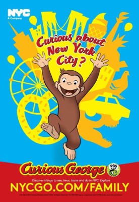 Curious George: Your New NYC Ambassador