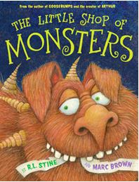 R.L. Stine & Marc Brown Team Up For 'Little Shop of Monsters' Picture Book