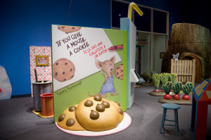 'Storyland: A Trip Through Childhood Favorites' Exhibit at The DISCOVERY Children's Museum