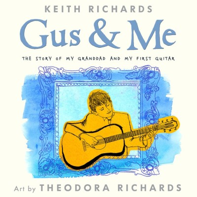 Keith Richards & His Daughter Team Up For Picture Book Project
