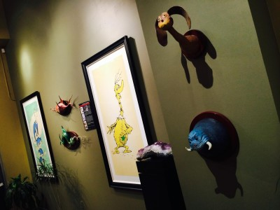 The Art of Dr. Seuss Exhibition at The Milan Gallery