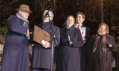 'Harriet the Spy' Park Designated Literary Landmark