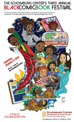 The Schomburg Center's 3rd Annual Black Comic Book Festival