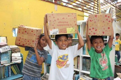 Books for Asia and Publishers Rally for Typhoon Haiyan Relief