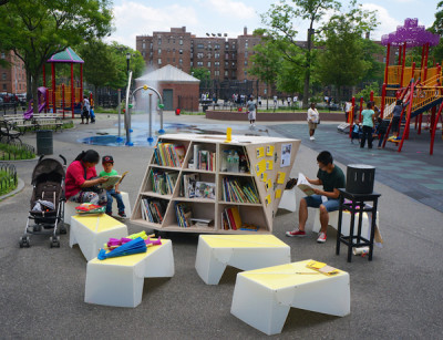 The Uni Project Brings Pop-Up Reading Rooms to NYC!