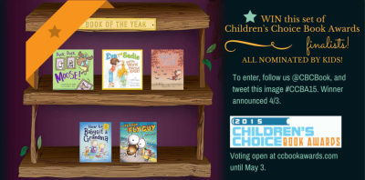 Enter the Children's Choice Book Awards Finalist Giveaway!
