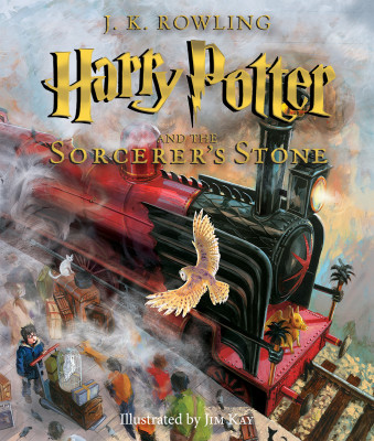 Scholastic Releases Exclusive Cover of Upcoming Illustrated Edition of J.K. Rowling's Harry Potter & The Sorcerer's Stone