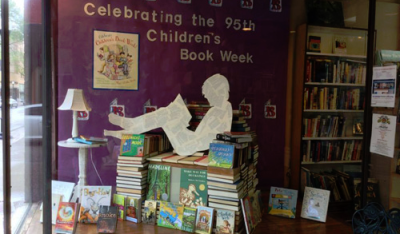 Bookstores! Enter the Children's Book Week Display Contest and Win an Author Visit!