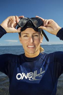 Underwater Book Launch with Author Dr. Ellen Prager