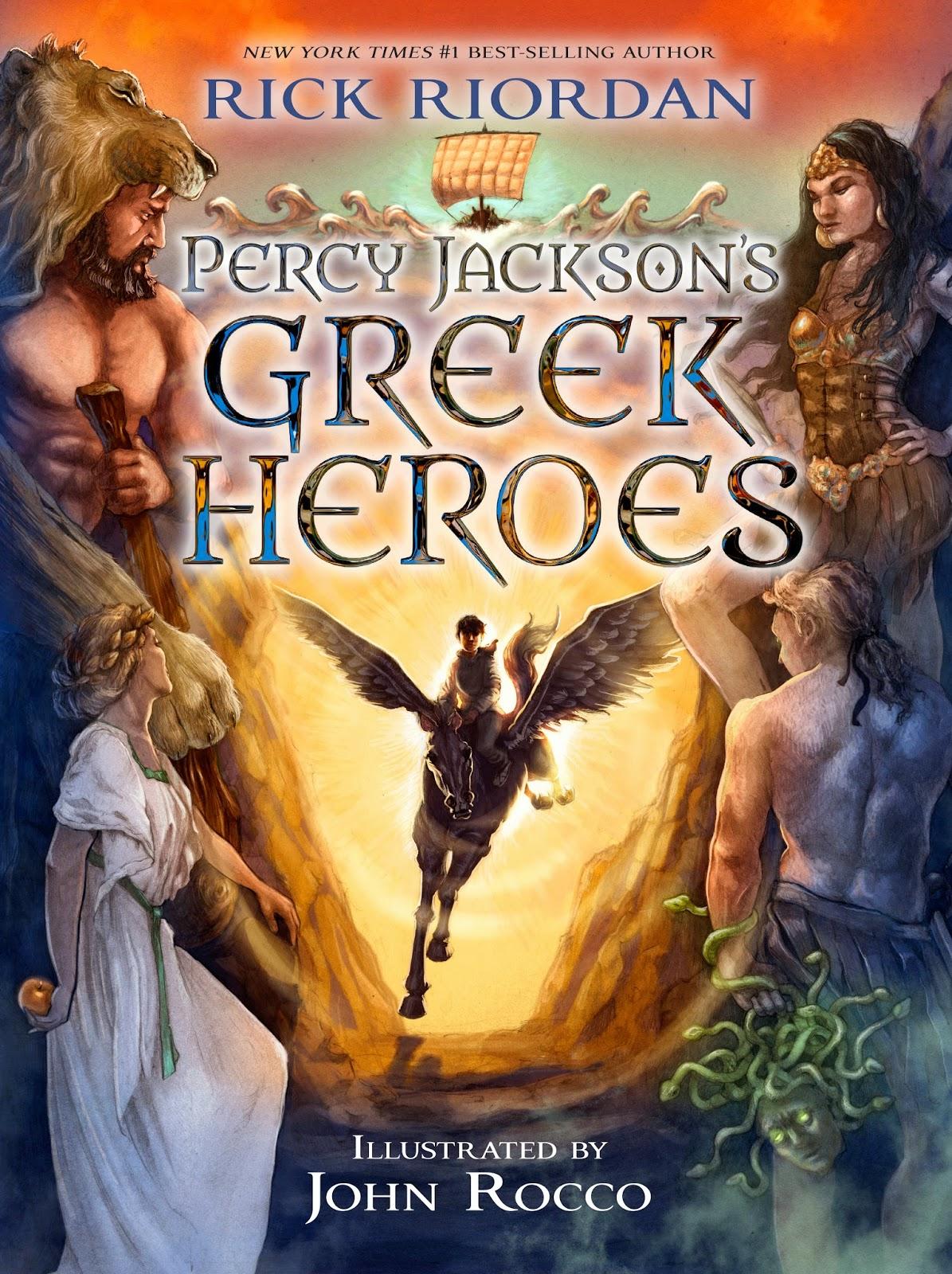 Rick Riordan Has Written a New Percy Jackson Companion Book | Children ...