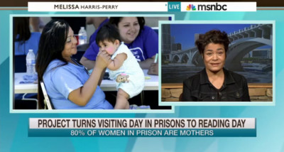 The CBC and the unPrison Project's Prison Nursery Libraries Initiative Featured on MSNBC