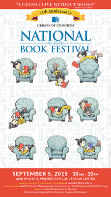 2015 National Book Festival Poster Unveiled