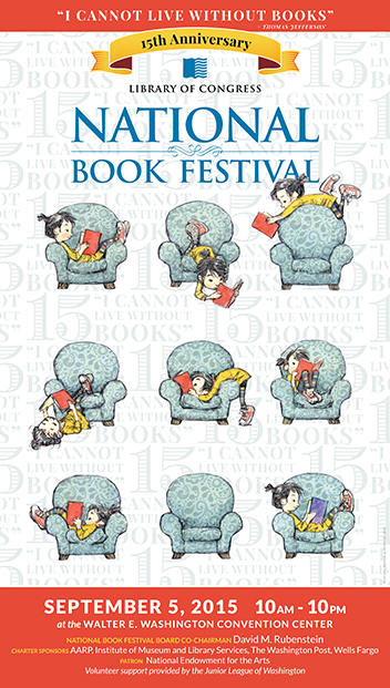 2015 National Book Festival Poster Unveiled | Children's ...