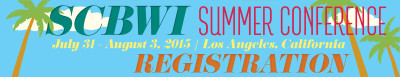 SCBWI Summer Conference 2015