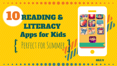 Summer Reading and Literacy Apps