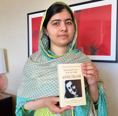 Malala Yousafzai Launches #BooksNotBullets Campaign
